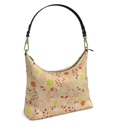 Square Hobo Bag - Morning Warm Dew