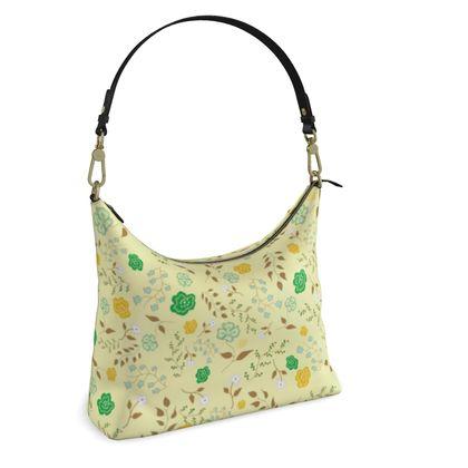 Square Hobo Bag - Morning Summer Dew