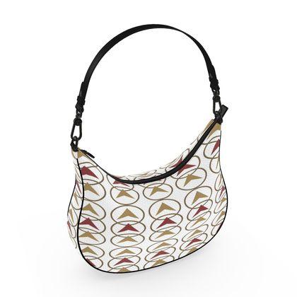Curve Hobo Bag - Shaynai White