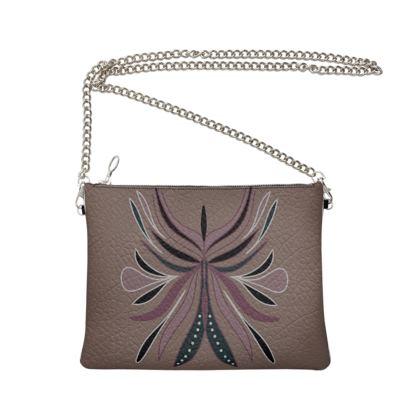 Cross Body Bag - DragonFly Art
