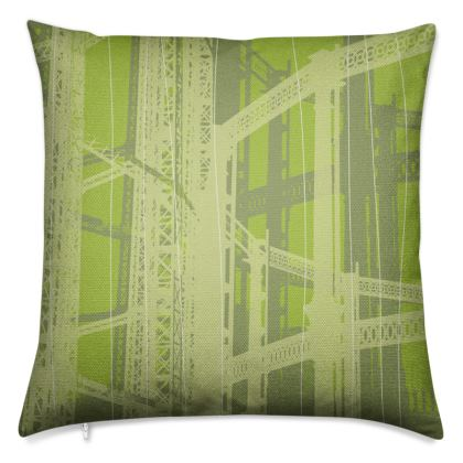Pistachio Green Gasometer Luxury Cushion