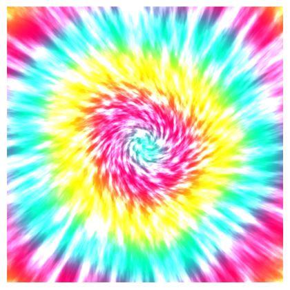 Tie-Dye Burst of Colors T Shirt