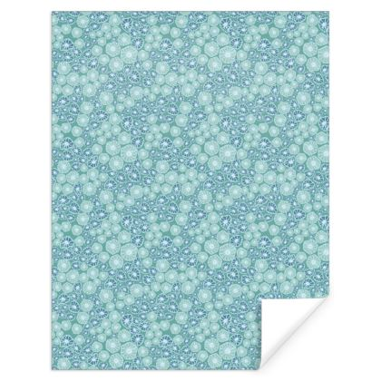 Bubbly ocean patterned Gift Wrap