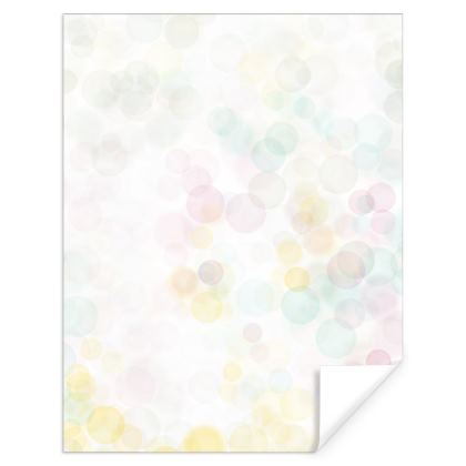 Light Bubbly patterned Gift Wrap