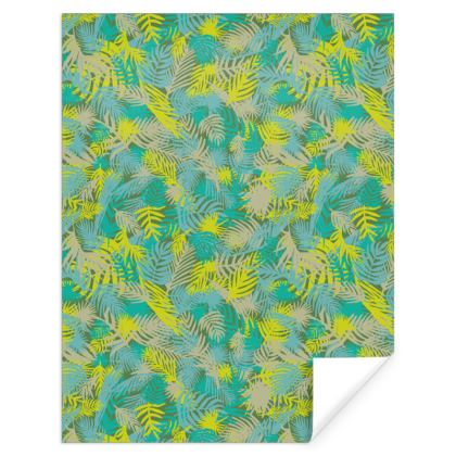 Printed Tropical pattern Gift Wrap