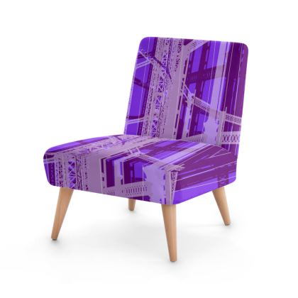 Occasional Chair - PURPLE