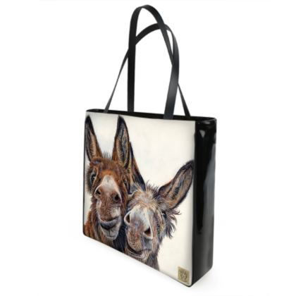 HEE HAW Donkey Shopper Bag
