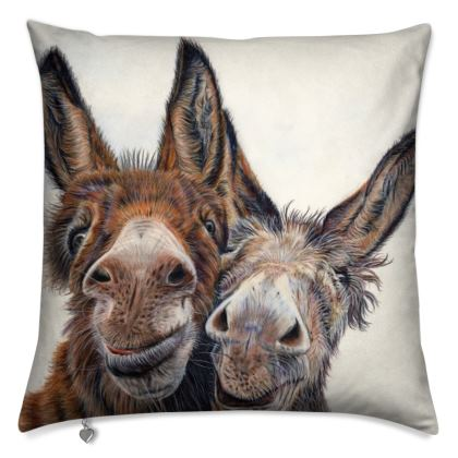 Hee HAW Donkey Cushion