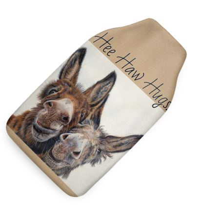 HEE HAW Donkey Hot Water Bottle