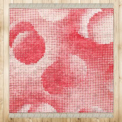 Medium Rug (128x128cm) - Endleaves of Art. Taste. Beauty (1932) Remix