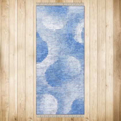 XL Rug (128x290cm) - Endleaves of Art. Taste. Beauty (1932) Blue Remix