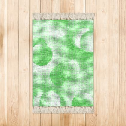 Small Rug (90x63cm) - Endleaves of Art. Taste. Beauty (1932) Green Remix