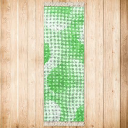 Runner (180x63cm) - Endleaves of Art. Taste. Beauty (1932) Green Remix