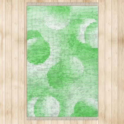 Large Rug (128x200cm) - Endleaves of Art. Taste. Beauty (1932) Green Remix