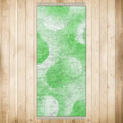 XL Rug (128x290cm) - Endleaves of Art. Taste. Beauty (1932) Green Remix