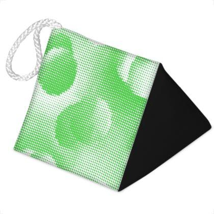 Door Stopper - Endleaves of Art. Taste. Beauty (1932) Green Remix
