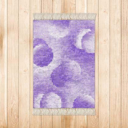 Small Rug (90x63cm) - Endleaves of Art. Taste. Beauty (1932) Purple Remix