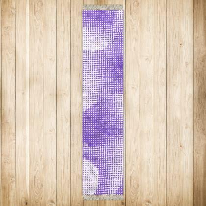 Long Runner (290x63cm) - Endleaves of Art. Taste. Beauty (1932) Purple Remix