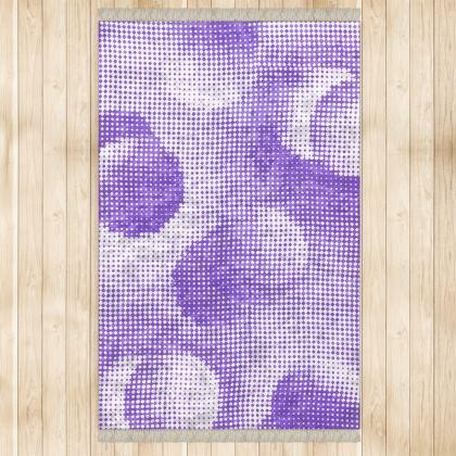 Large Rug (128x200cm) - Endleaves of Art. Taste. Beauty (1932) Purple Remix