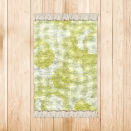 Small Rug (90x63cm) - Endleaves of Art. Taste. Beauty (1932) Yellow Remix