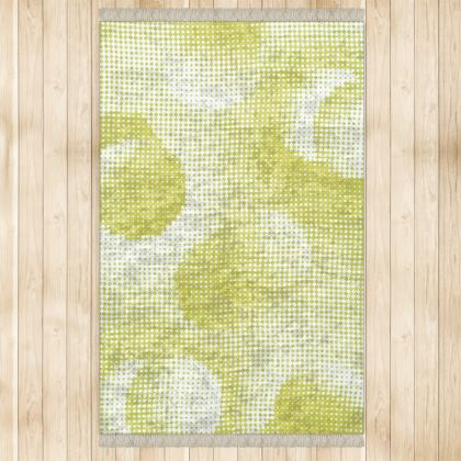 Large Rug (128x200cm) - Endleaves of Art. Taste. Beauty (1932) Yellow Remix