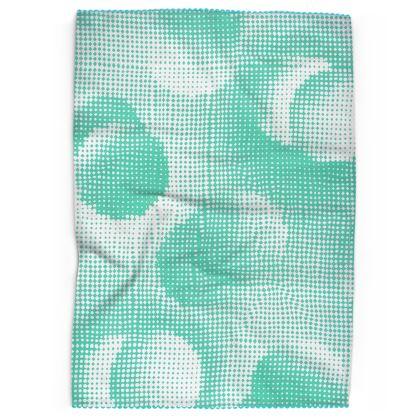 Tea Towels - Endleaves of Art. Taste. Beauty (1932) Jade Remix