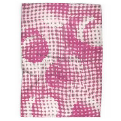Tea Towels - Endleaves of Art. Taste. Beauty (1932) Pink Remix