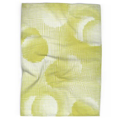 Tea Towels - Endleaves of Art. Taste. Beauty (1932) Yellow Remix
