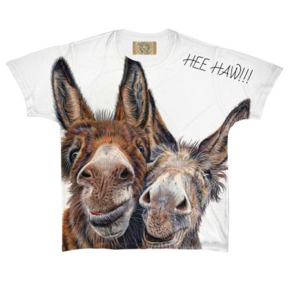 HEE HAW All Over Print T Shirt