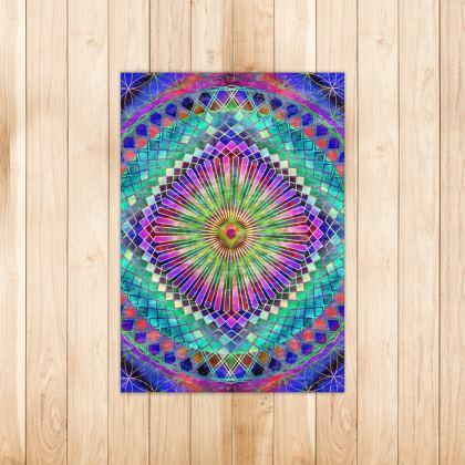 Rug Sun Mandala