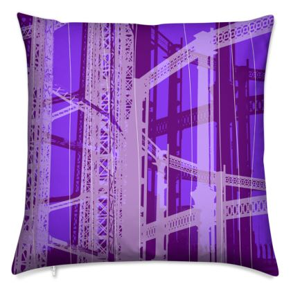 Violet Gasometer Cushion