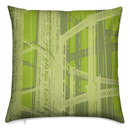 Pistachio Green Gasometer Cushion