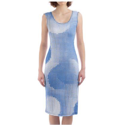 Bodycon Dress - Endleaves of Art. Taste. Beauty (1932) Blue Remix