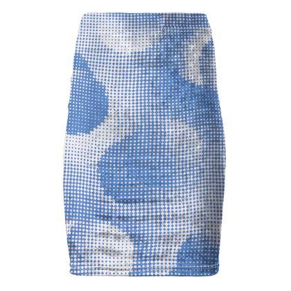 Pencil Skirt - Endleaves of Art. Taste. Beauty (1932) Blue Remix
