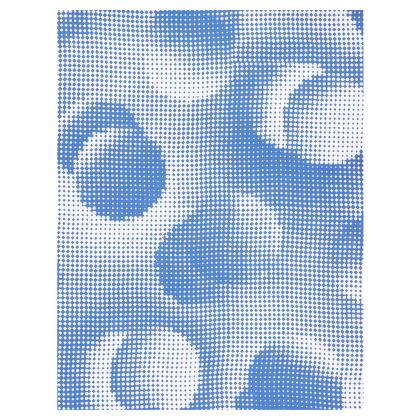 Long Slip Dress - Endleaves of Art. Taste. Beauty (1932) Blue Remix