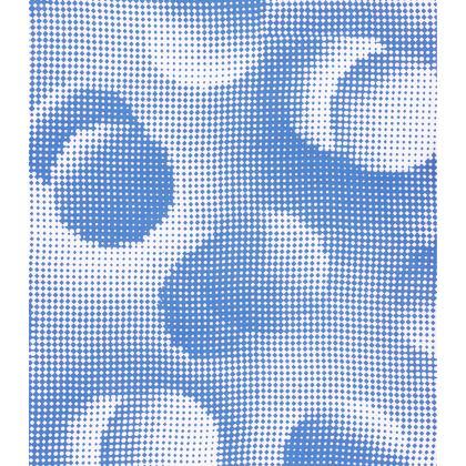 Short Slip Dress - Endleaves of Art. Taste. Beauty (1932) Blue Remix