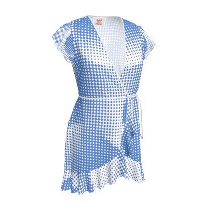 Tea Dress - Endleaves of Art. Taste. Beauty (1932) Blue Remix
