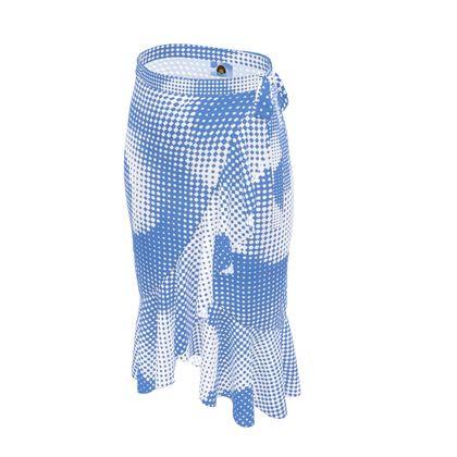 Long Flounce Skirt - Endleaves of Art. Taste. Beauty (1932) Blue Remix