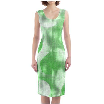 Bodycon Dress - Endleaves of Art. Taste. Beauty (1932) Green Remix