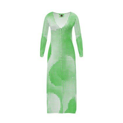Long Ladies Cardigan - Endleaves of Art. Taste. Beauty (1932) Green Remix