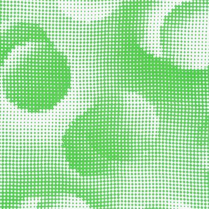 Knee-Length Flared Skirt - Endleaves of Art. Taste. Beauty (1932) Green Remix