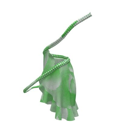 Short Flounce Skirt - Endleaves of Art. Taste. Beauty (1932) Green Remix