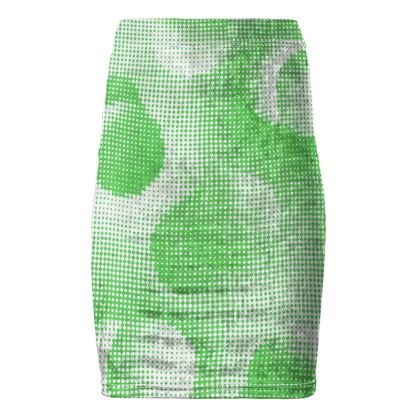 Pencil Skirt - Endleaves of Art. Taste. Beauty (1932) Green Remix