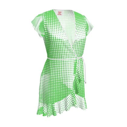 Tea Dress - Endleaves of Art. Taste. Beauty (1932) Green Remix