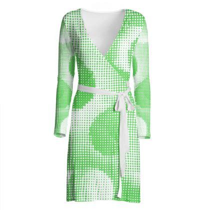 Wrap Dress - Endleaves of Art. Taste. Beauty (1932) Green Remix