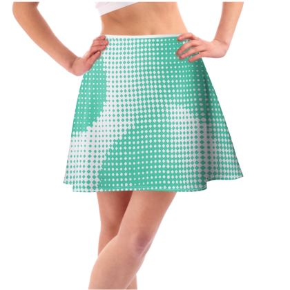Short Flared Skirt - Endleaves of Art. Taste. Beauty (1932) Jade Remix