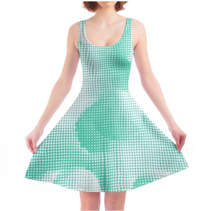 Skater Dress - Endleaves of Art. Taste. Beauty (1932) Jade Remix