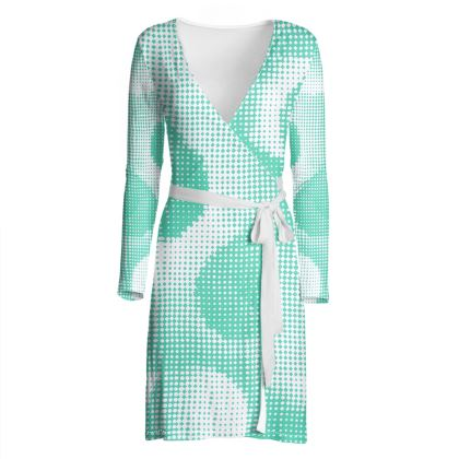 Wrap Dress - Endleaves of Art. Taste. Beauty (1932) Jade Remix