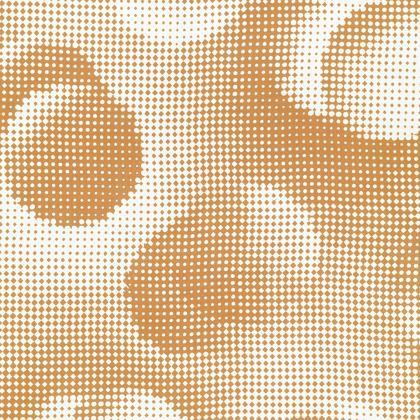 Knee-Length Flared Skirt - Endleaves of Art. Taste. Beauty (1932) Orange Remix