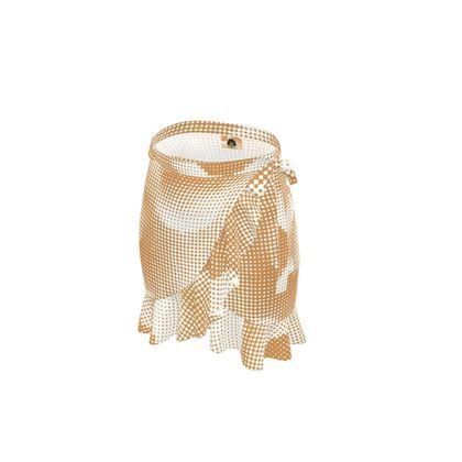 Short Flounce Skirt - Endleaves of Art. Taste. Beauty (1932) Orange Remix
